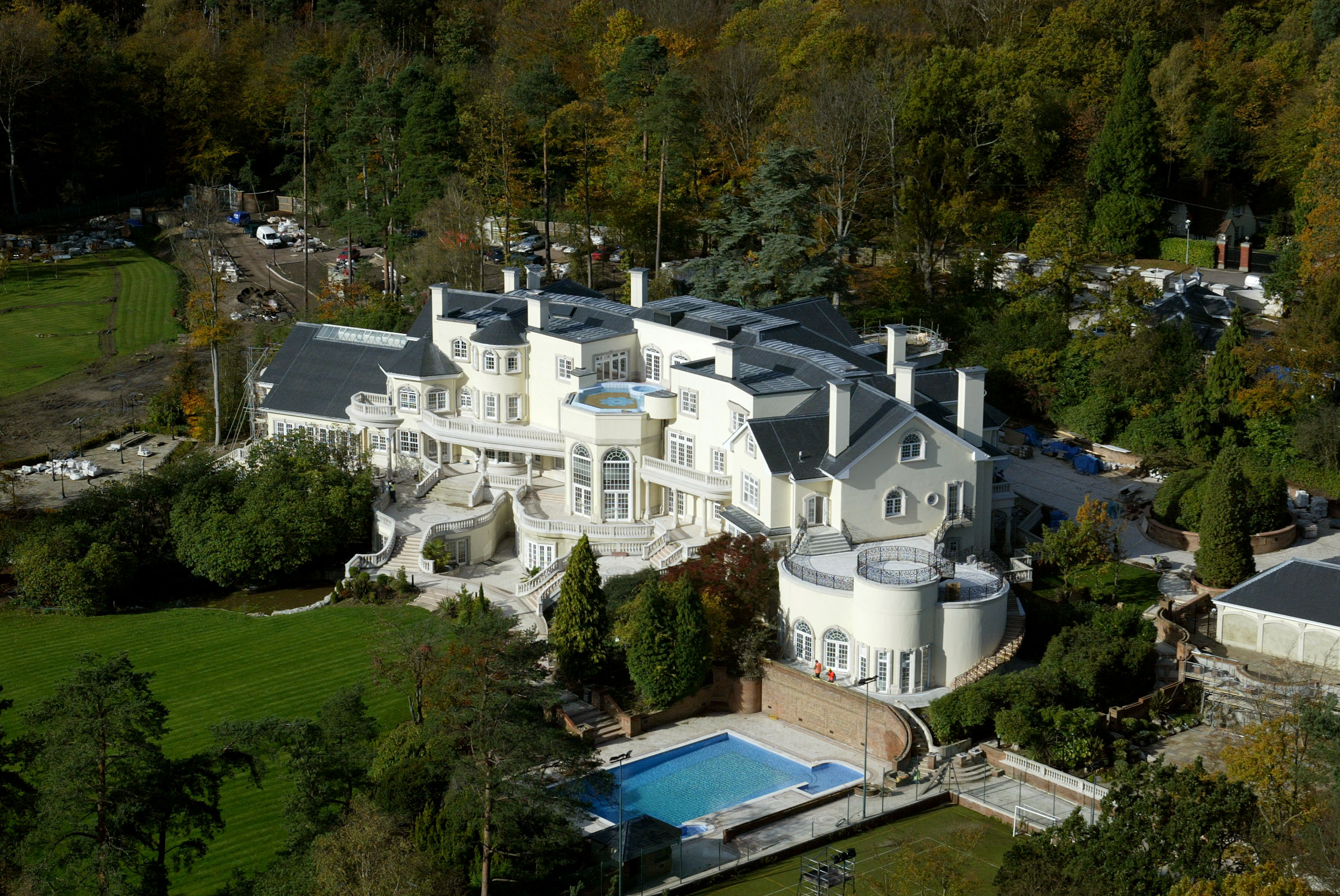 Most Expensive House Ever Updown court helicopter