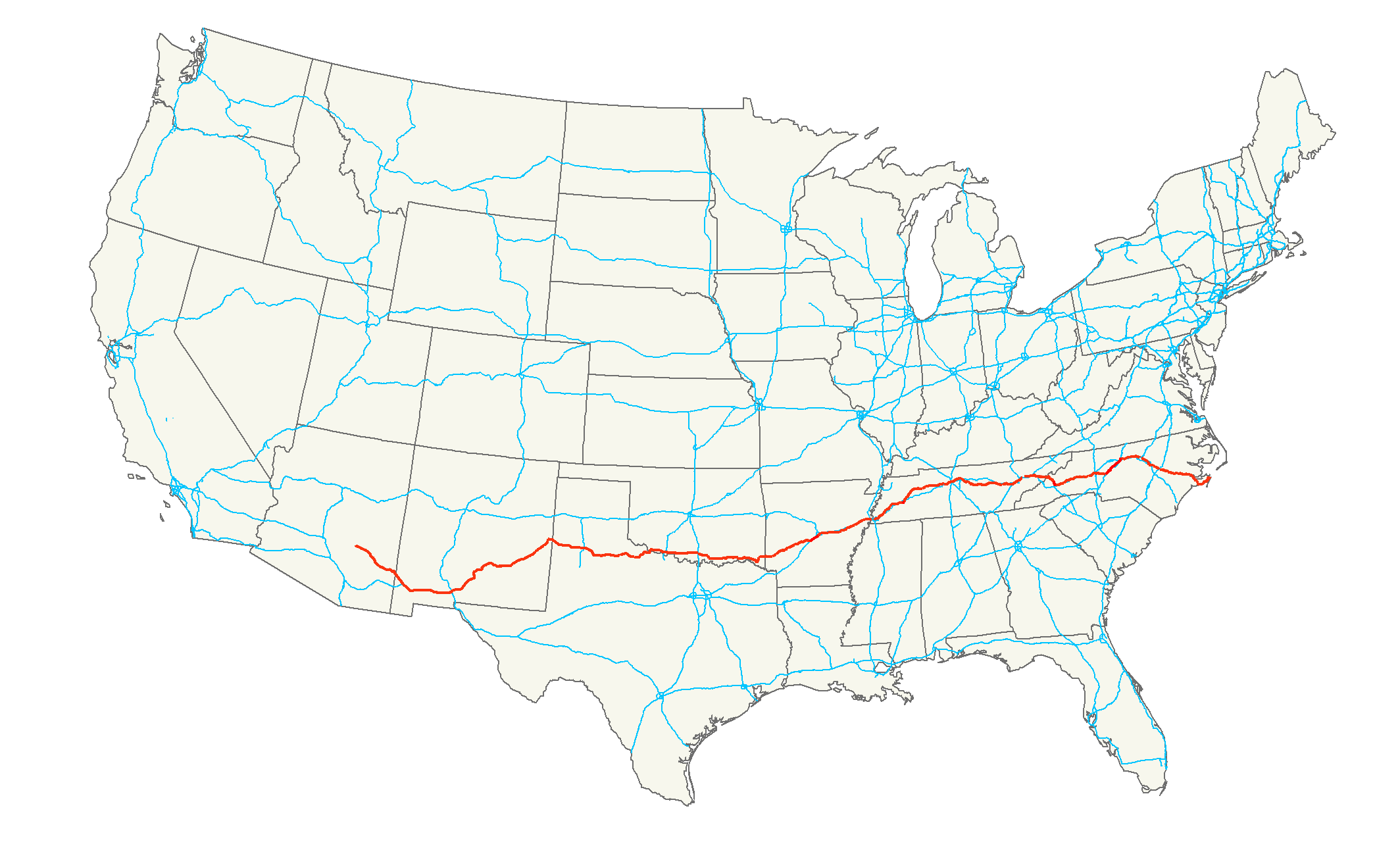 US Route  Wikiwand - Us map interstate 70