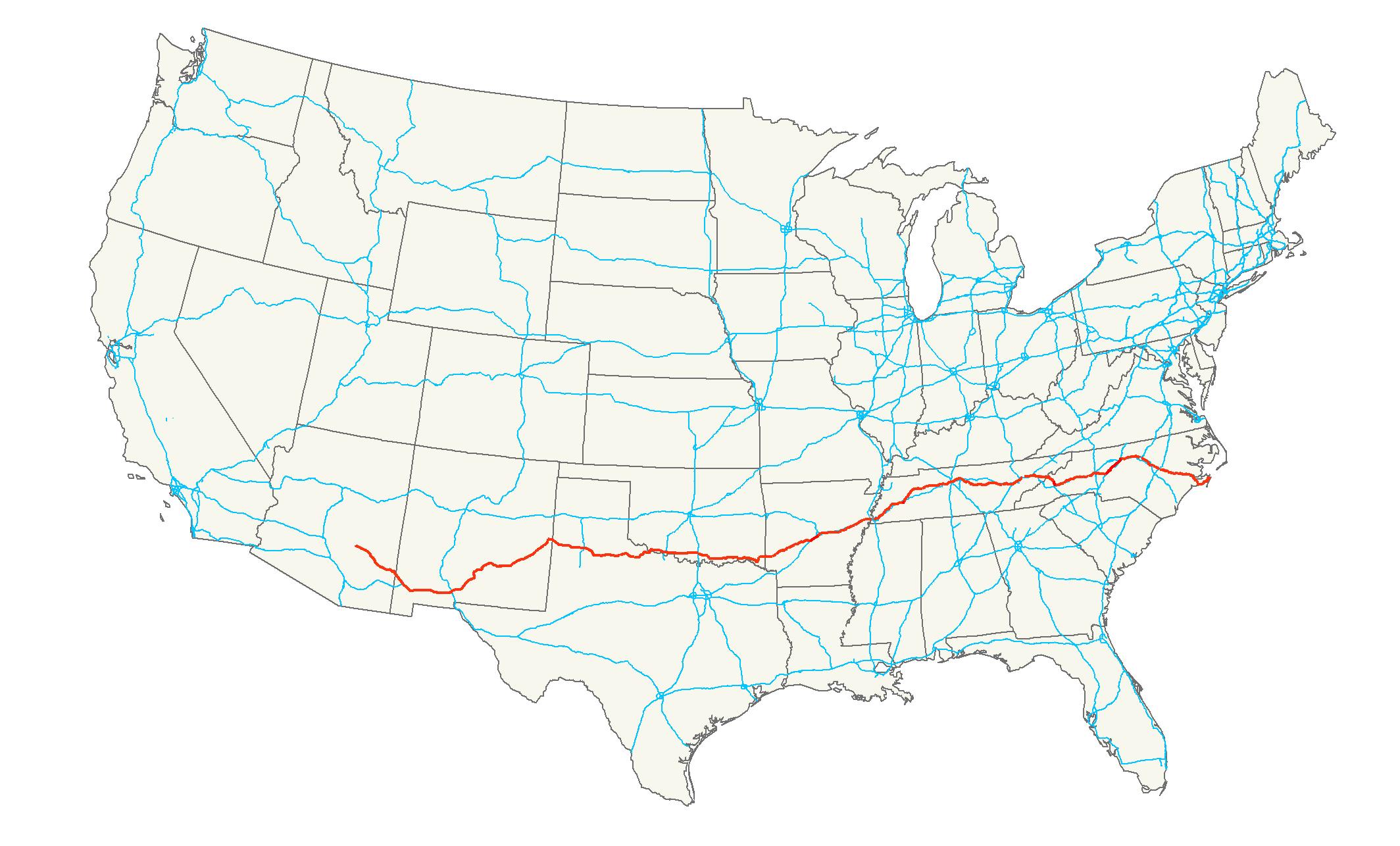 U.S. Route 70 - Wikipedia on map indiana usa, map denver usa, map portland usa, map nashville usa, map colorado usa, map i-65 usa, map texas usa,