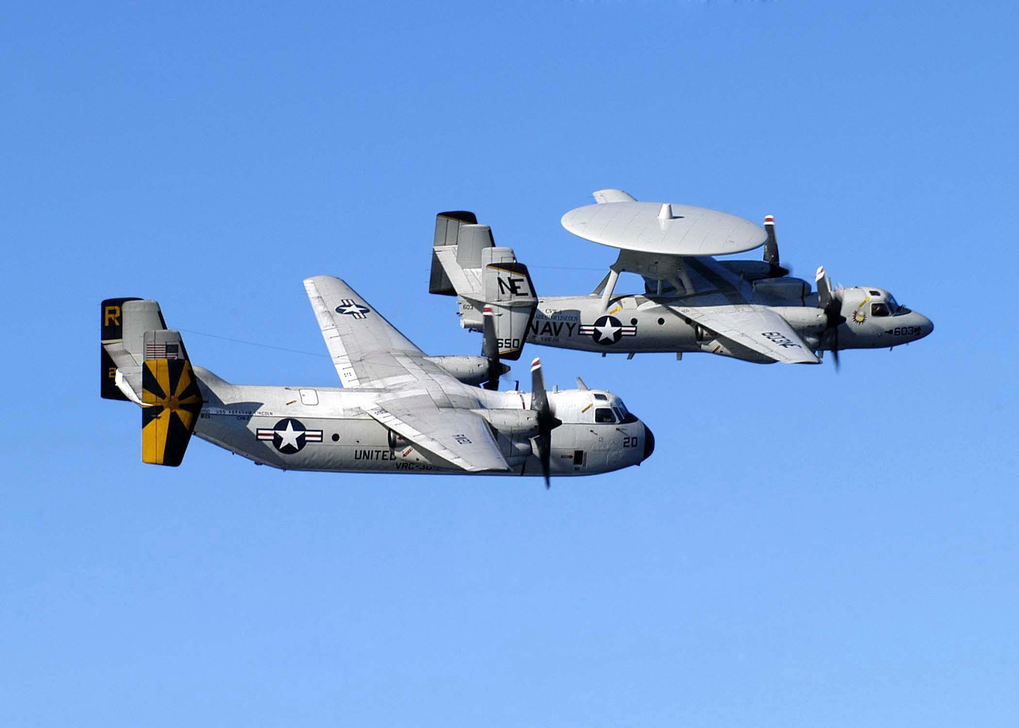 C 2a Greyhound Logistics Aircraft File:US Navy 050220-N-...