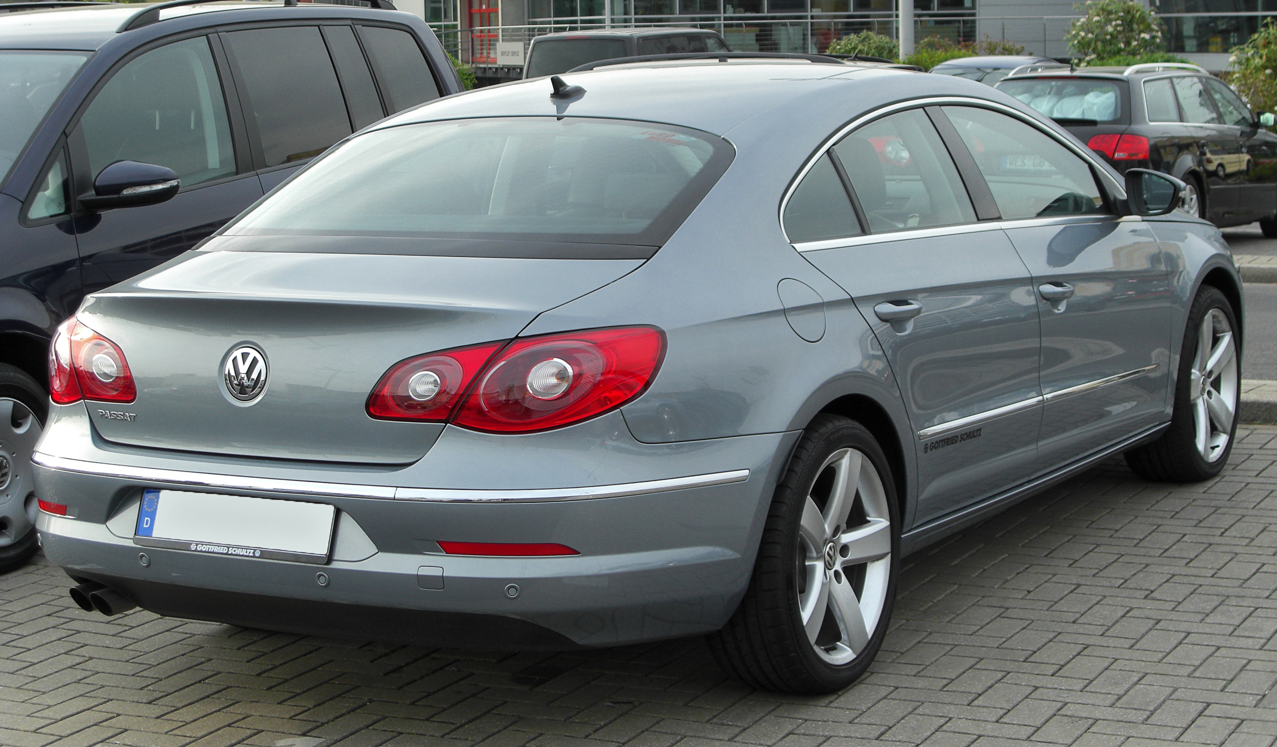 File:VW Passat CC rear 20100425.jpg - Wikimedia Commons