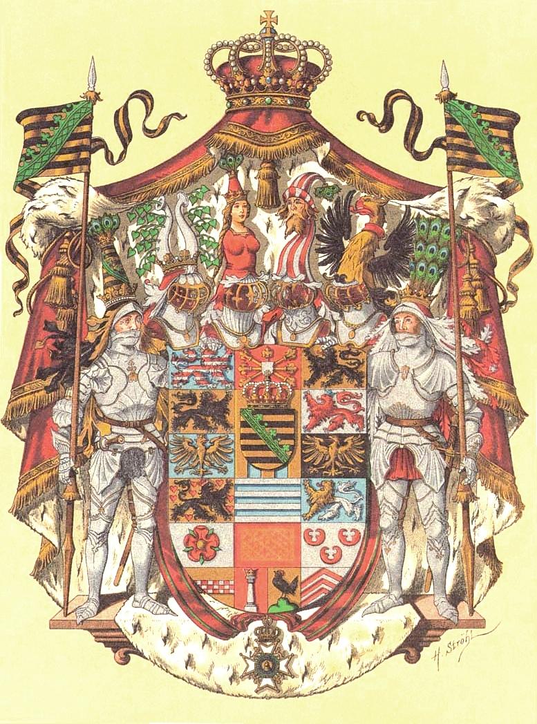 Wappen von Sachsen-Meiningen