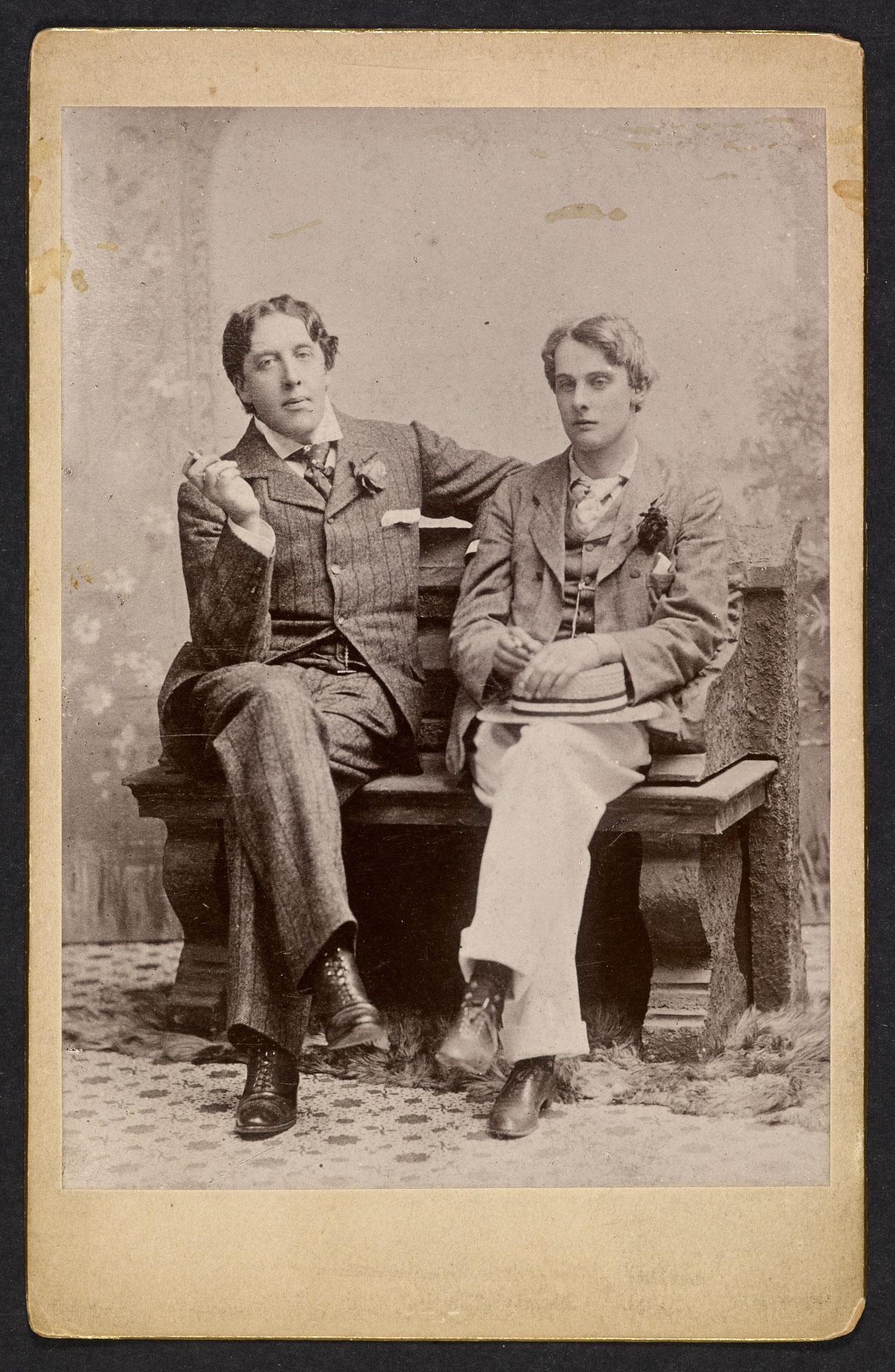 Oscar Wilde y lord Alfred Douglas.