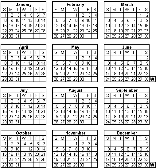 Year Calendar Repeats : World calendar wikipedia