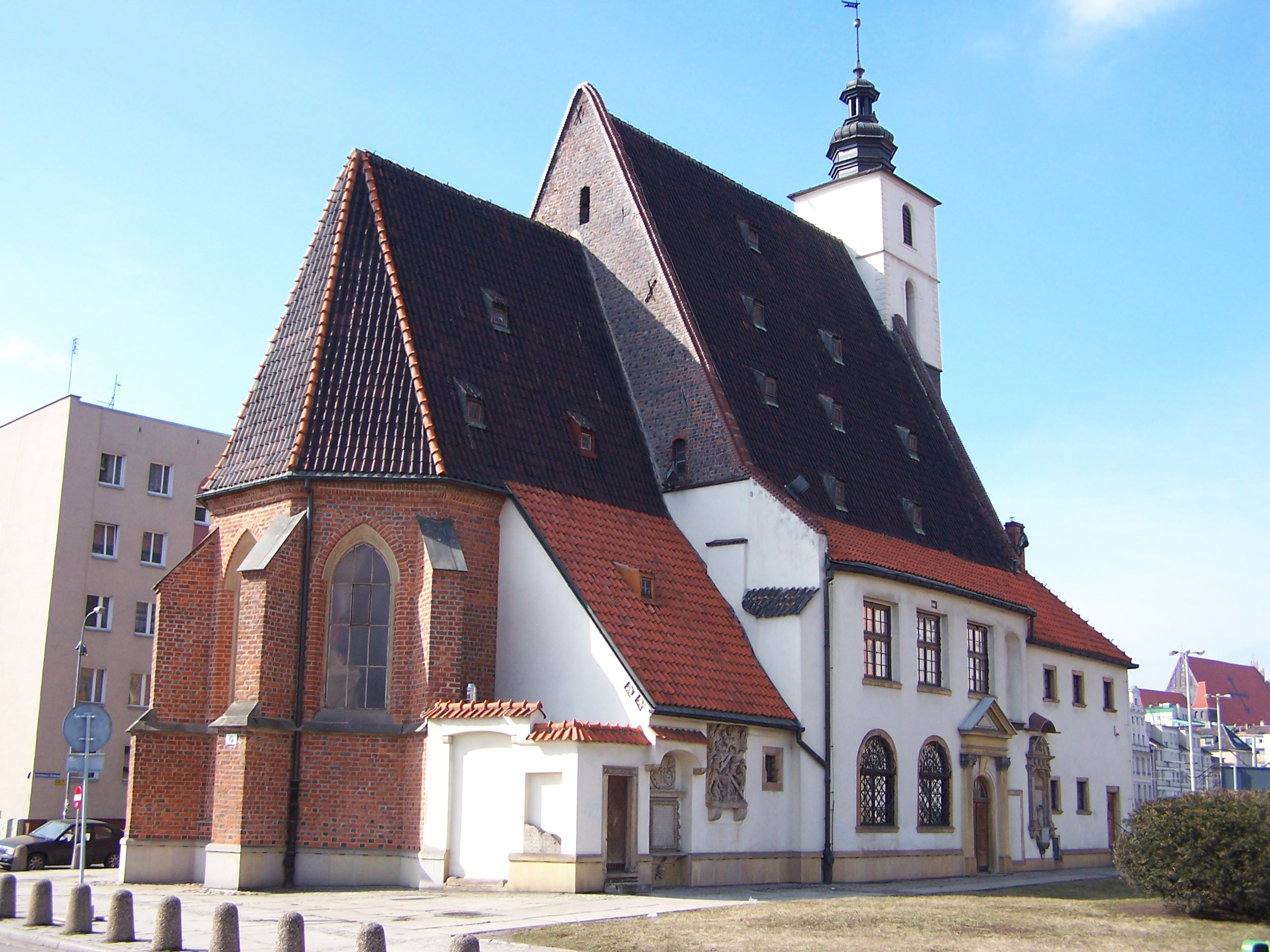 Die evangelische Christophorikirche
