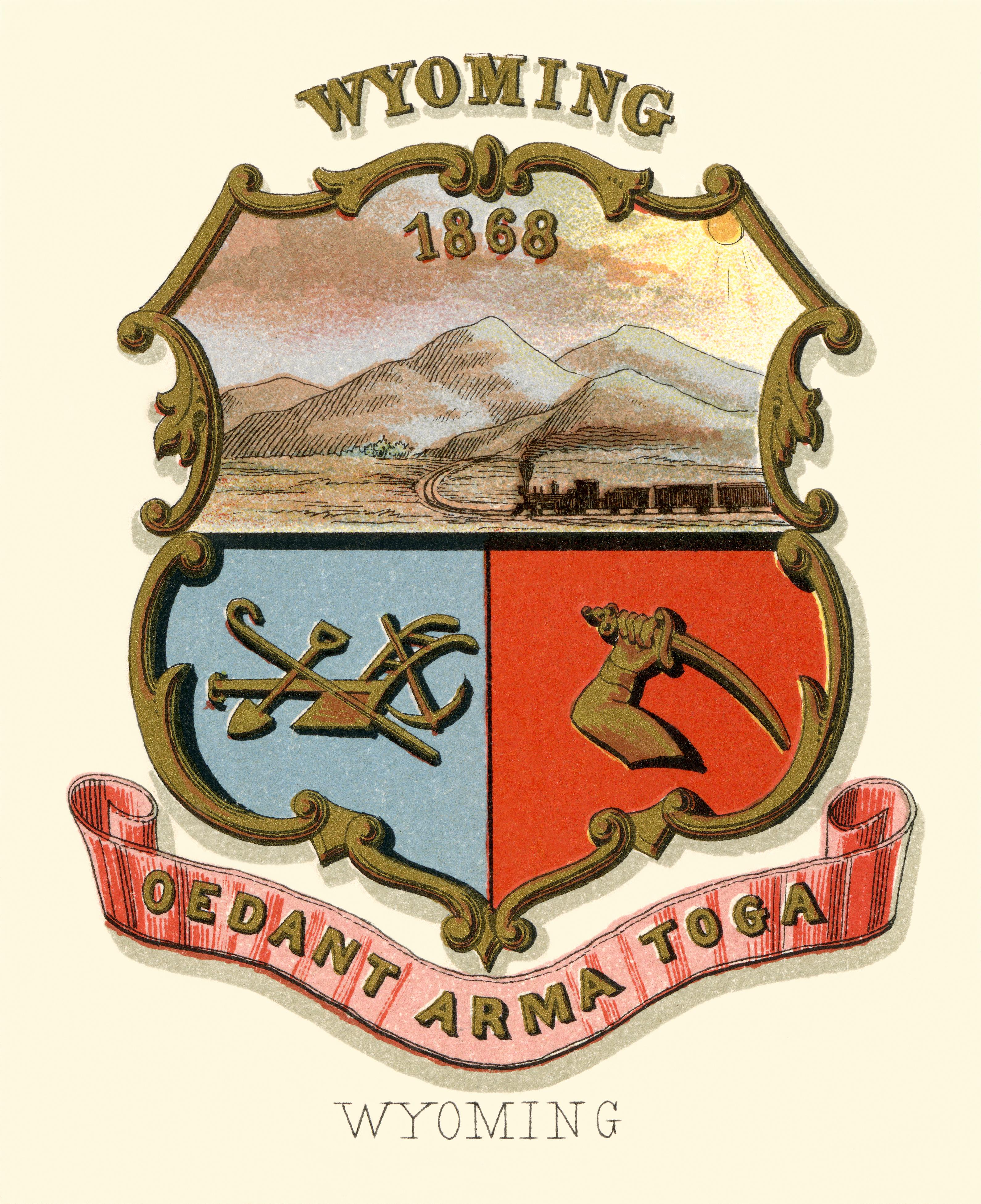Wyoming territory coat of arms (illustrated, 1876).jpg