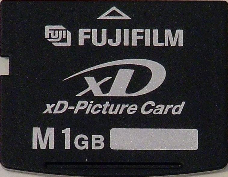 File:XD card typeM 1G Fujifilm png - Wikipedia