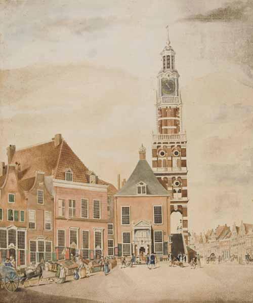 Zutphen 1787 Grote markt
