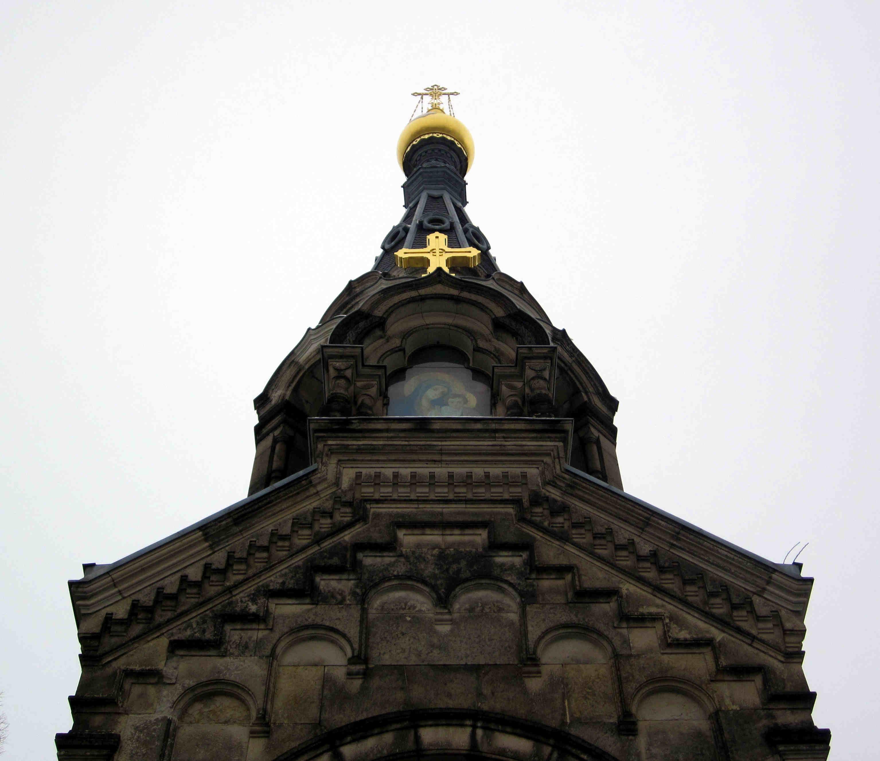 File Russisch Orthodoxe Kirche Dresden Glockenturm