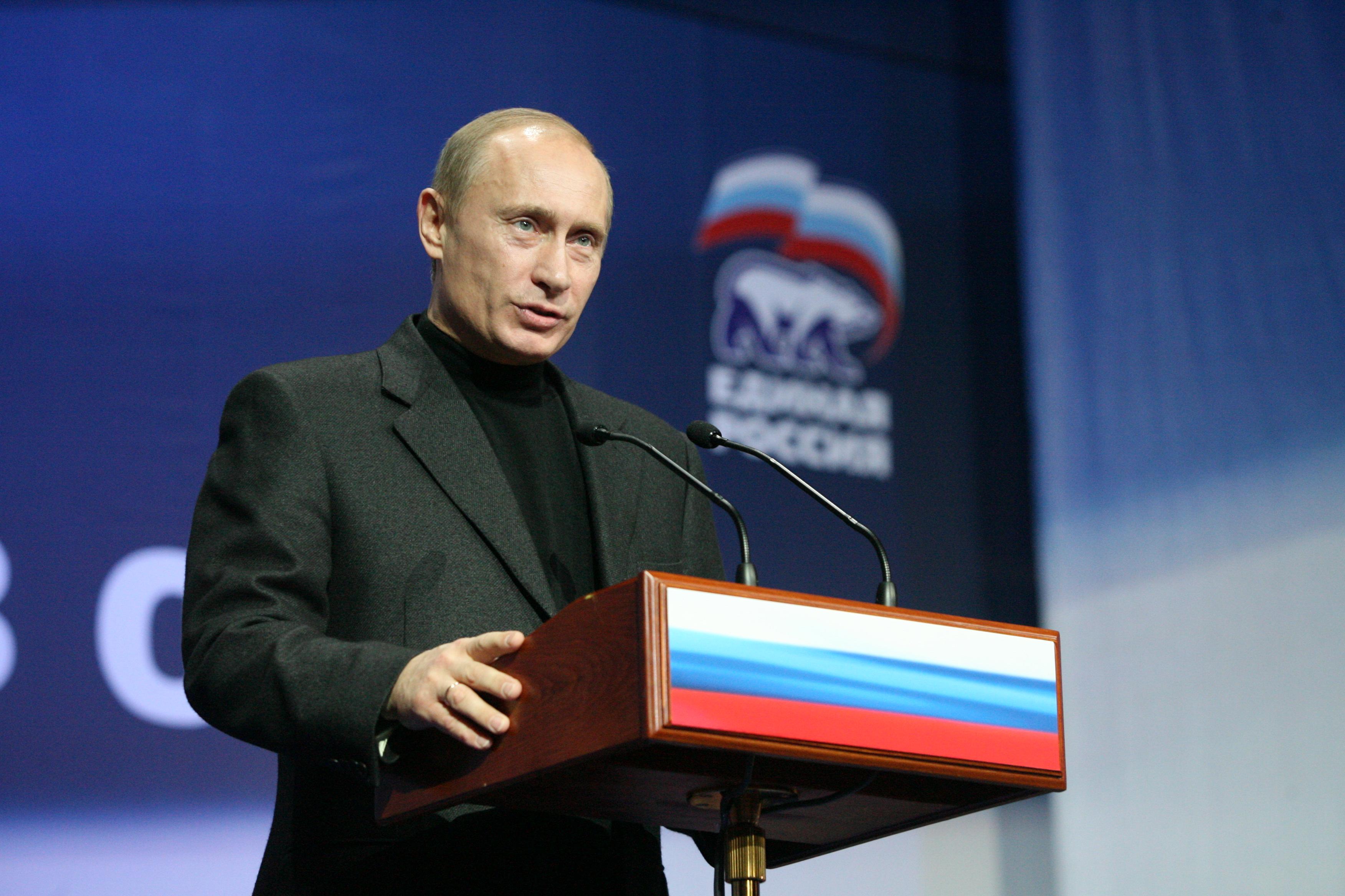 вчерашние выступление путина о рынках: