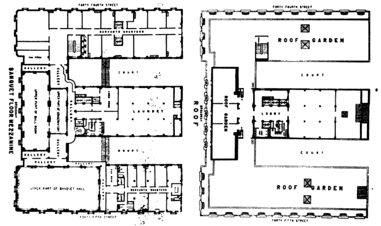 File 1904 Hotel Astor Ny Floor Plans D Png Wikimedia Commons