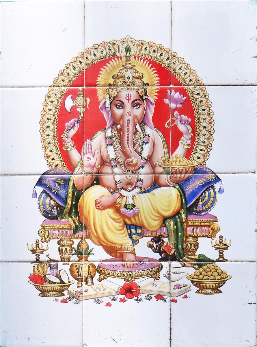 Der hinduistische Gott Ganesha