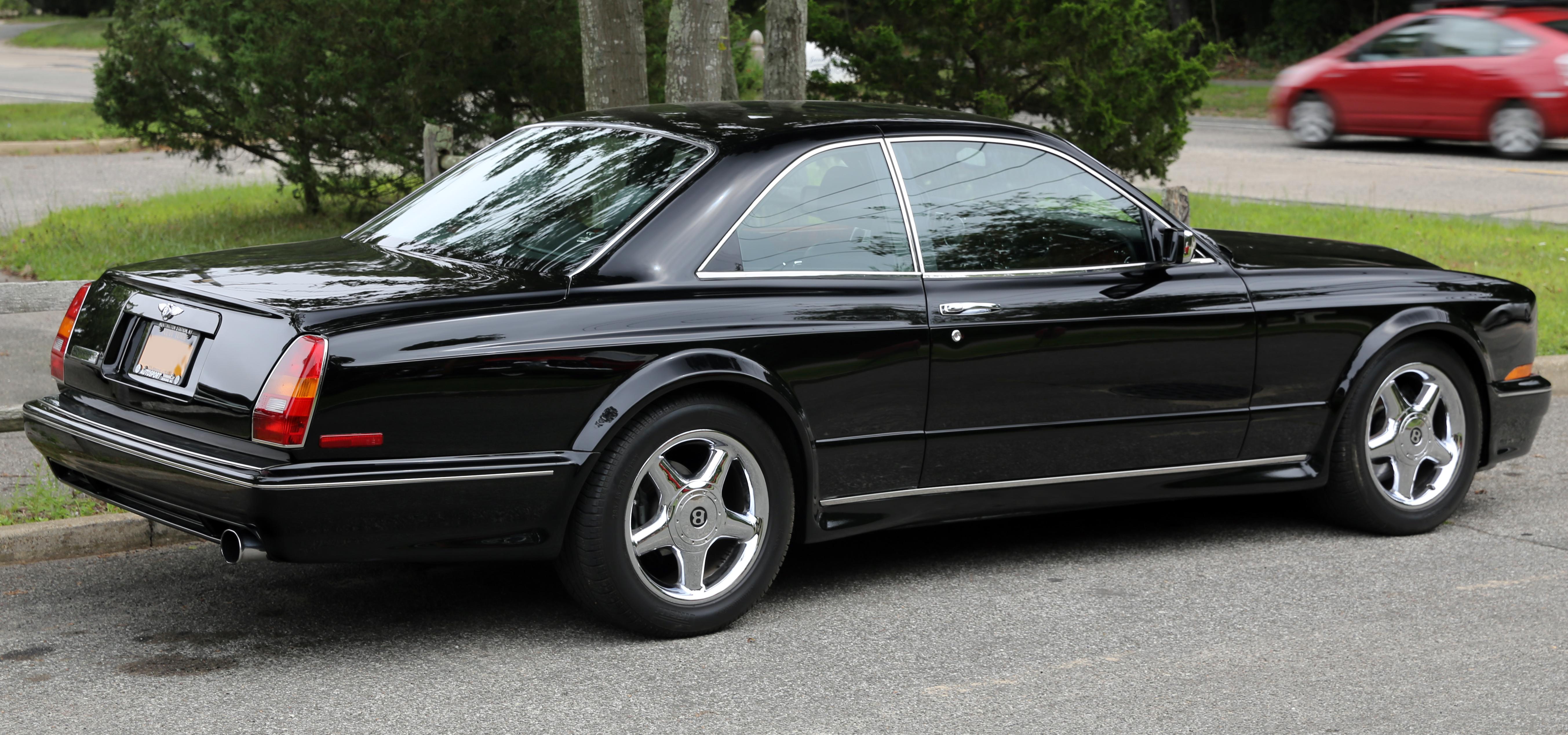 File 2002 Bentley Continental T Rear Right Jpg Wikimedia
