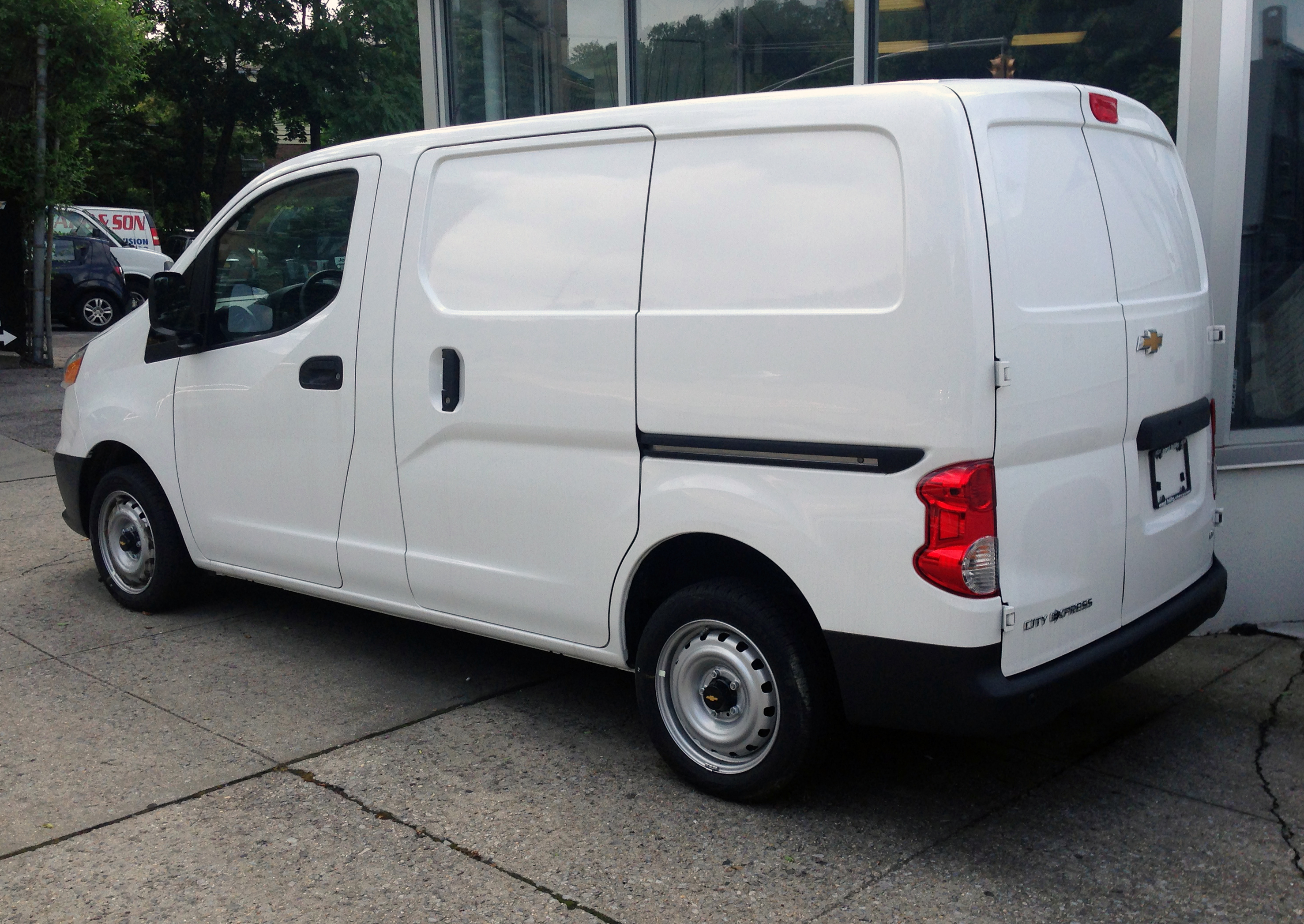 File 2015 Chevrolet City Express Ls Rear Left Side Jpg Wikimedia