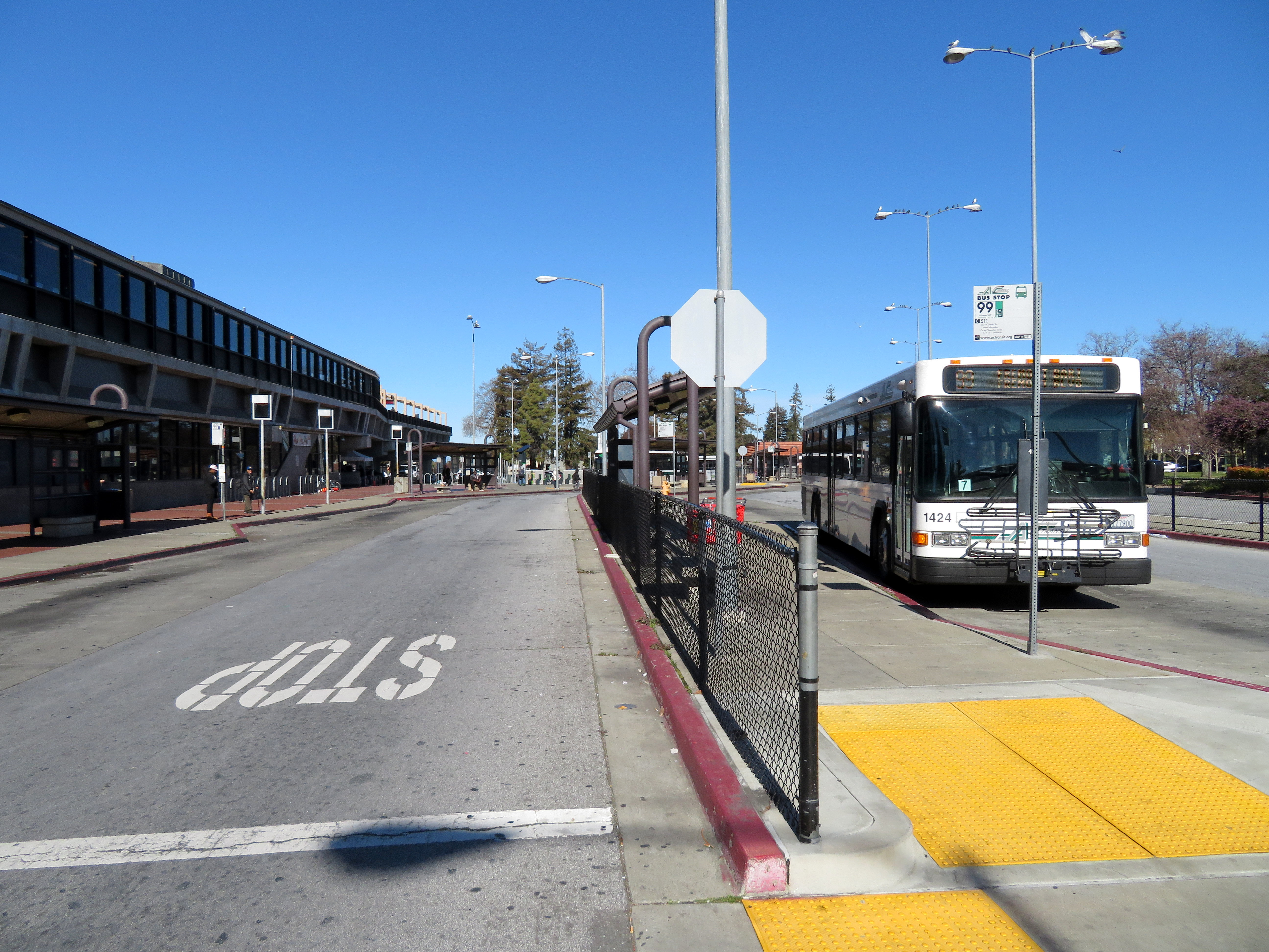 FileAC Transit Route 99 Bus At Hayward Station March 2018JPG