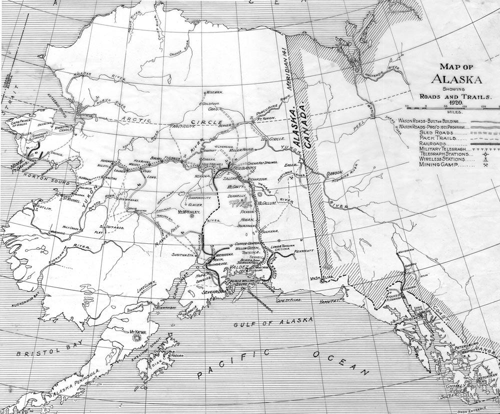 FileAlaska Road Commission Mapjpg Wikimedia Commons - Alaska road map