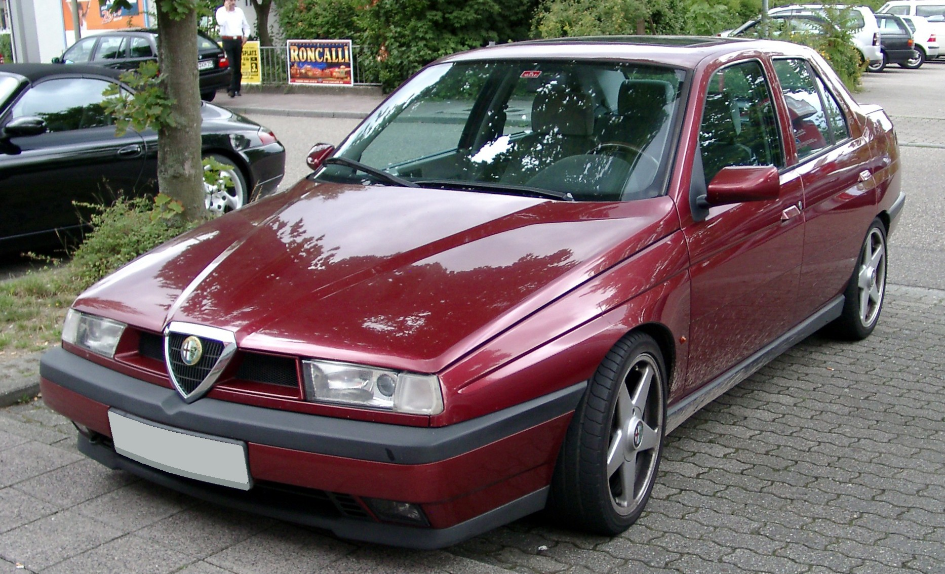 File Alfa Romeo 155 Front 20080718 Jpg Wikimedia Commons