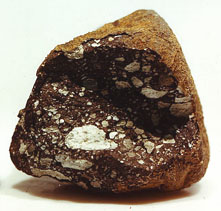 Lunar meteorite meteorite that originated from Earths Moon