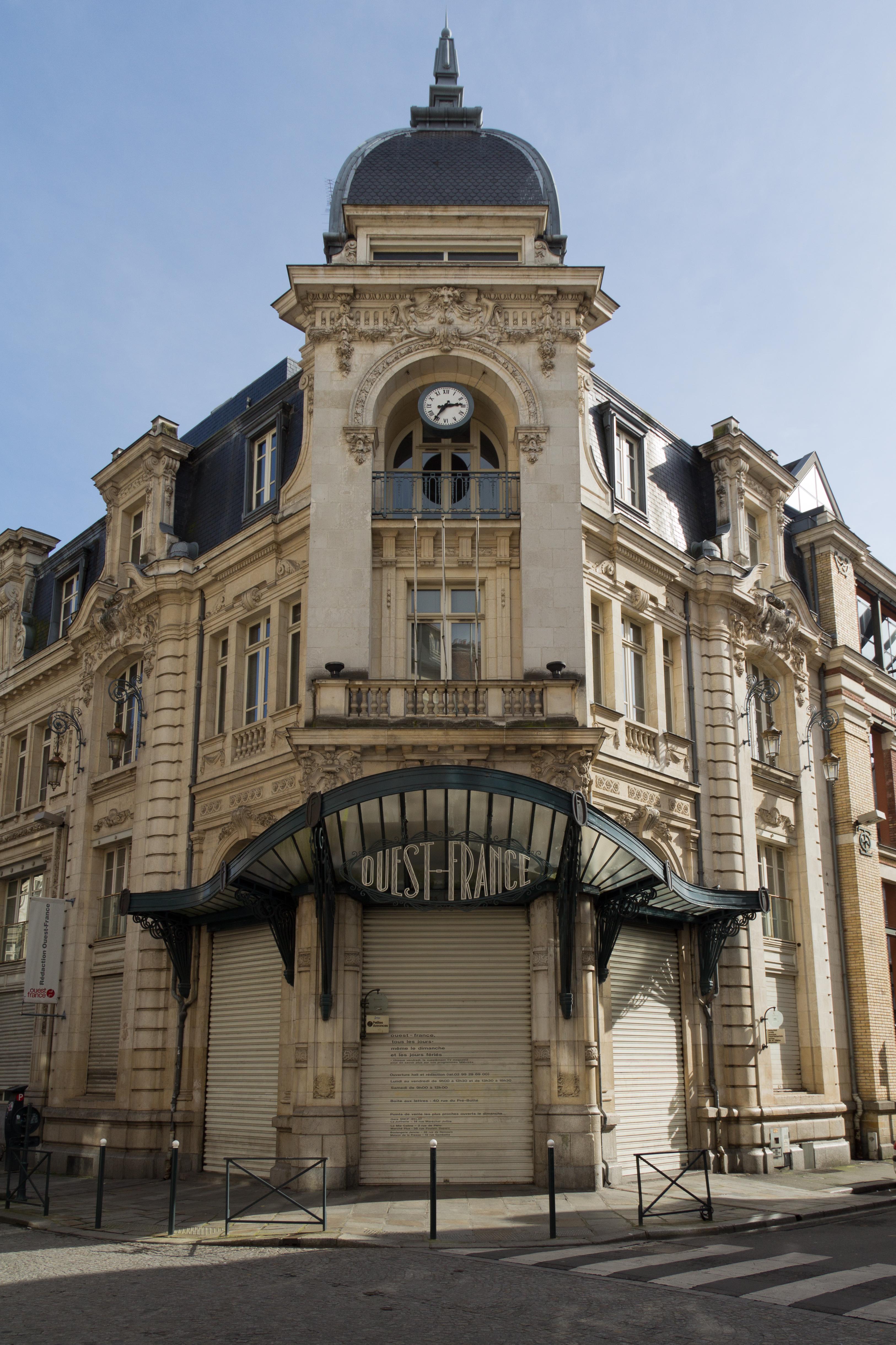 File:Ancien siège du journal Ouest-France à Rennes.jpg - Wikimedia Commons
