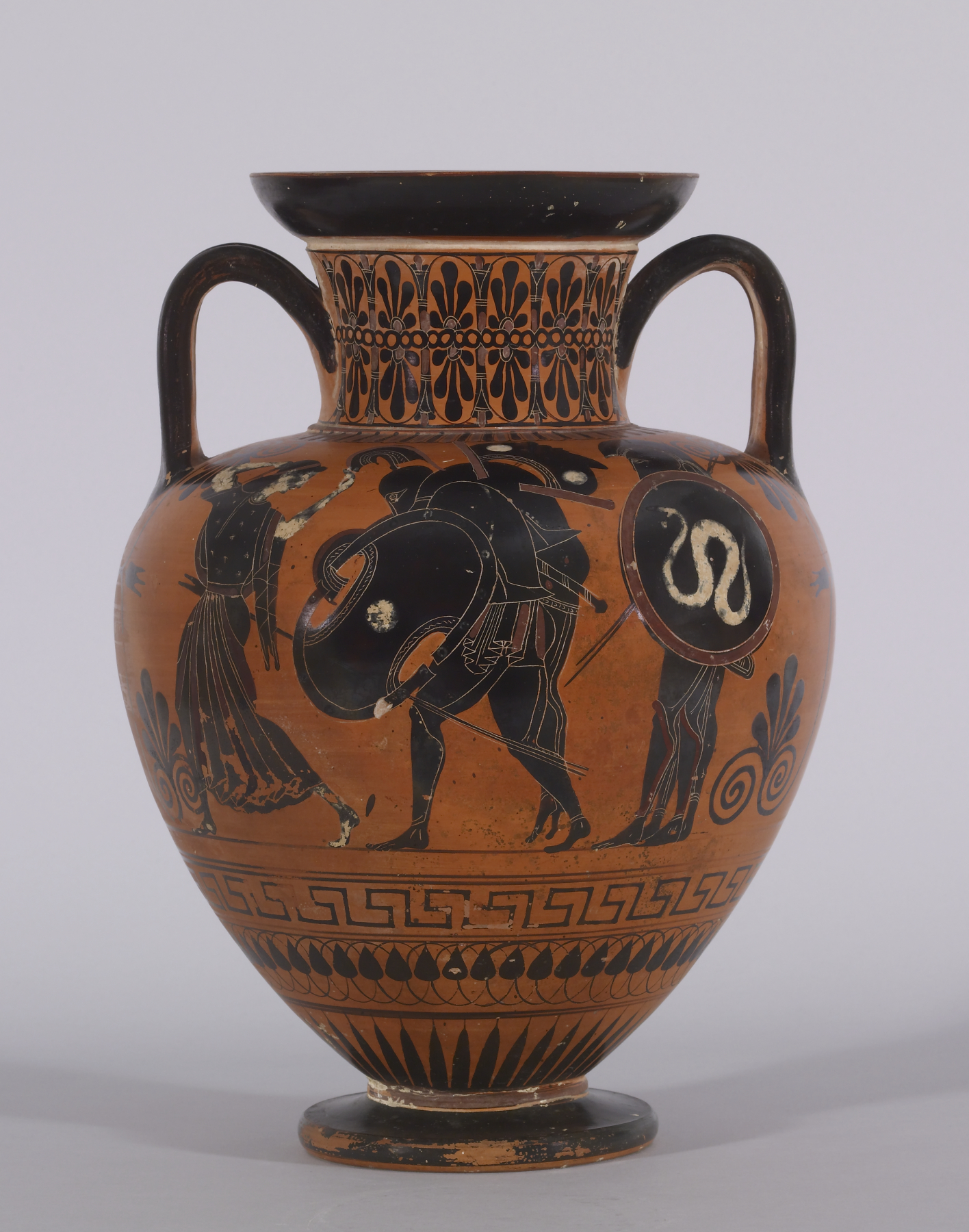 fileantimenes painter blackfigure amphora with ajax