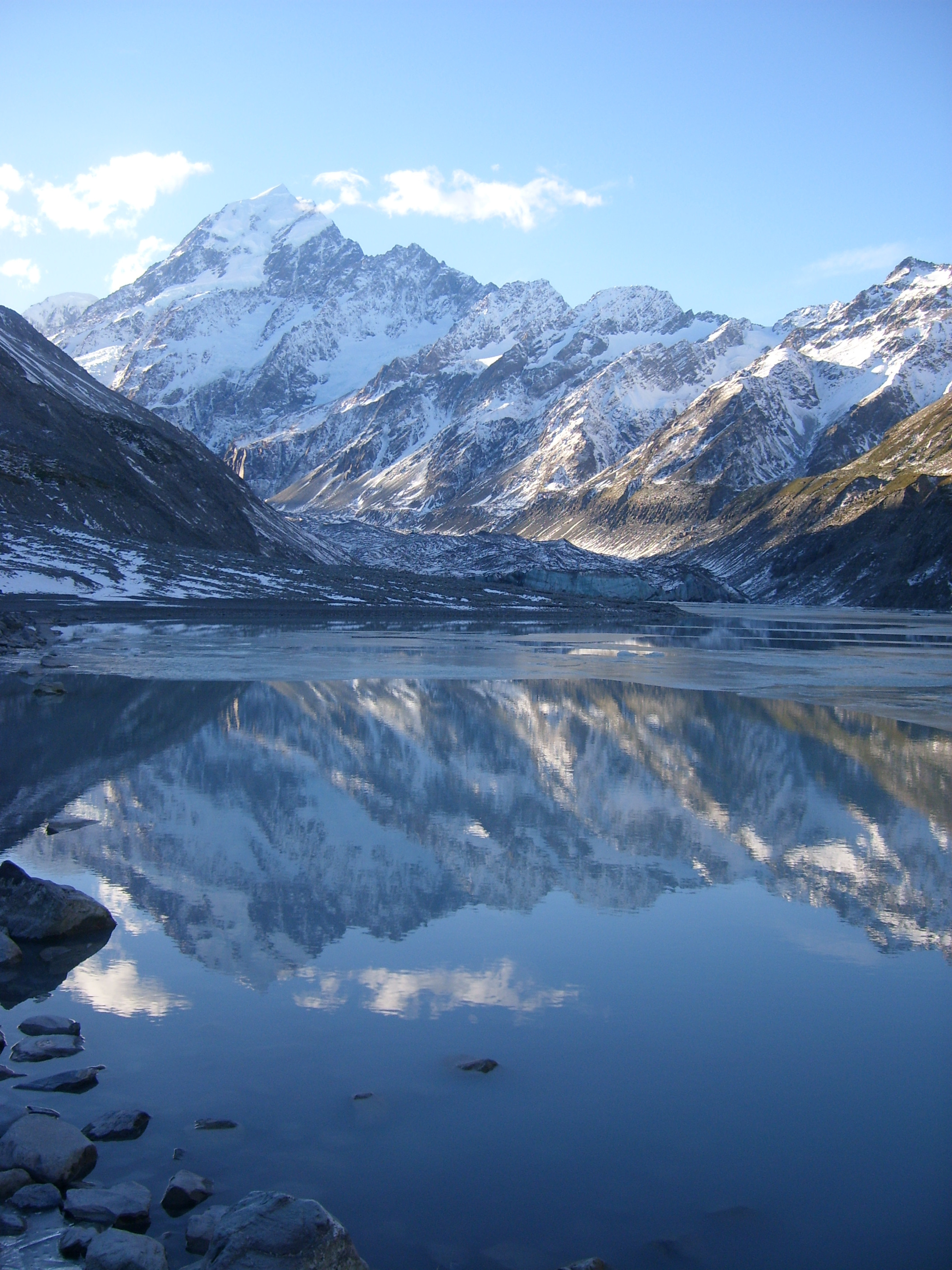 Mount Cook. Photo from Wikimedia Commons.