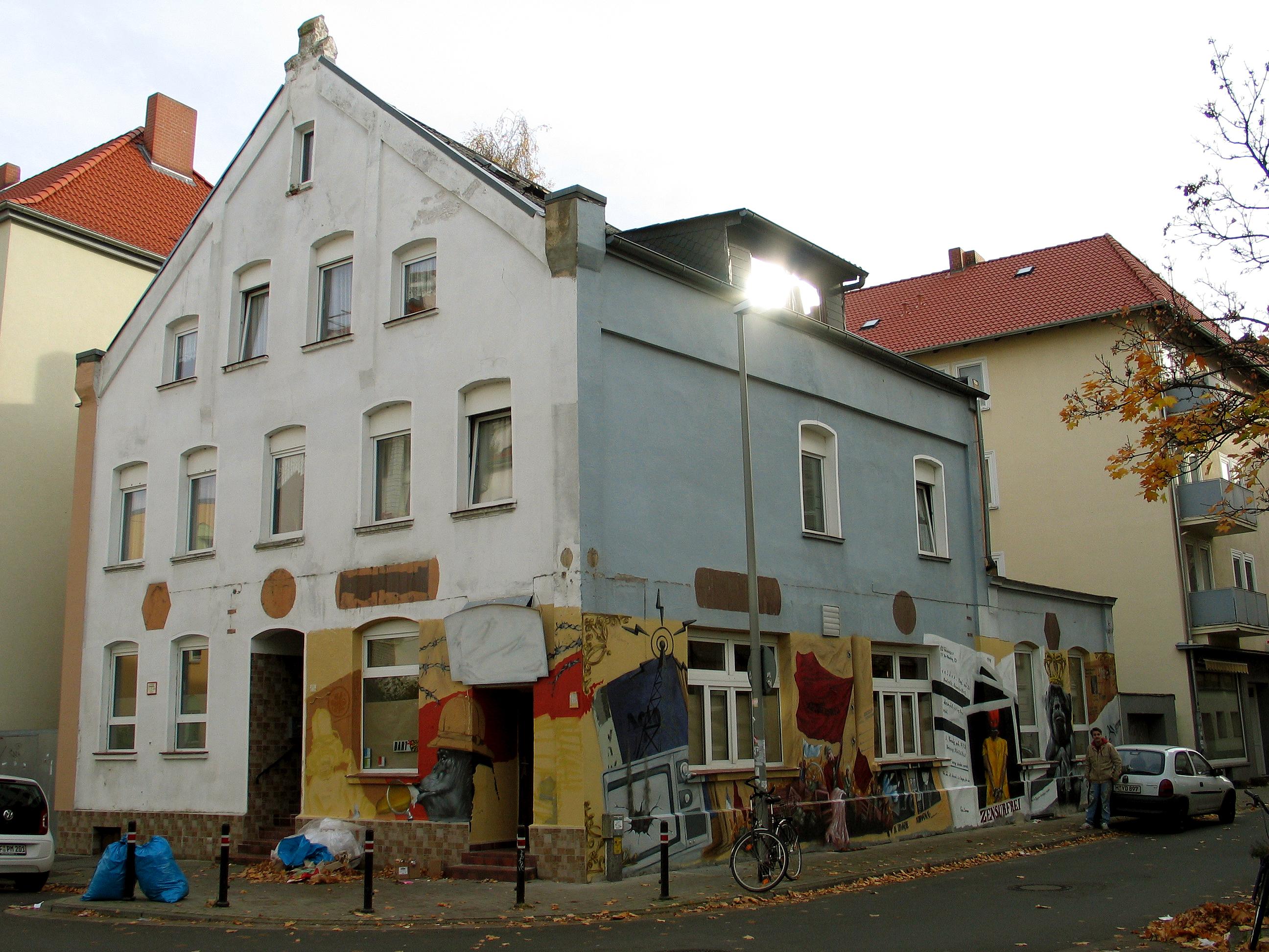 file asternstra e 15 30167 hannover nordstadt blick von. Black Bedroom Furniture Sets. Home Design Ideas