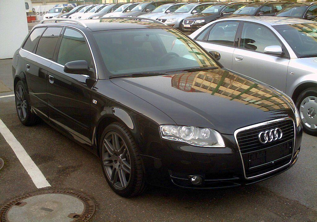 File:Audi A4 Avant front.jpg