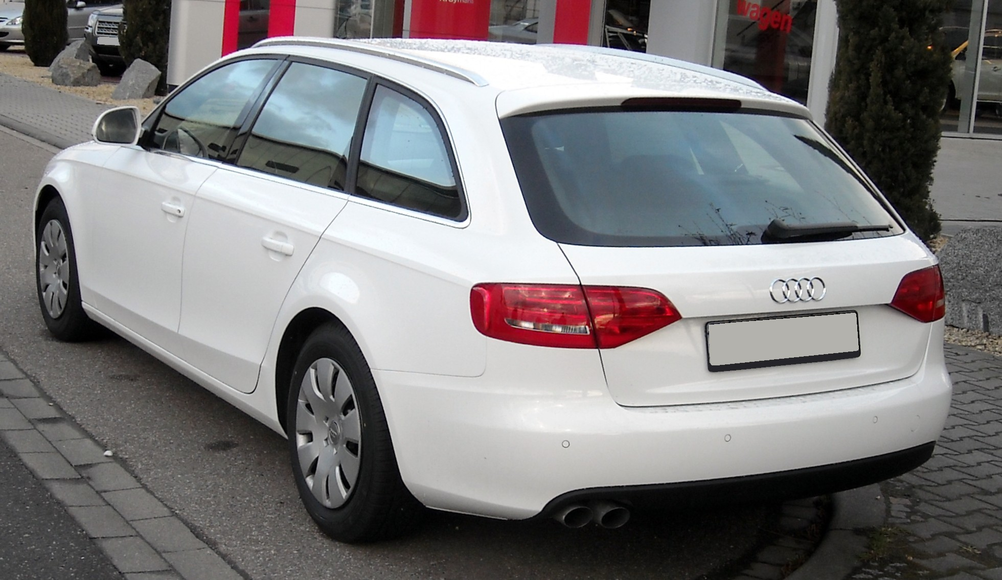 File Audi A4 B8 Avant Rear 20090324 Jpg Wikimedia Commons
