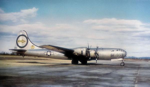 1950 Fairfield-Suisun Boeing B-29 crash - Wikipedia