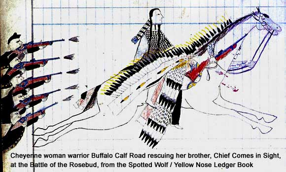 woman cheyenne calf road Buffalo