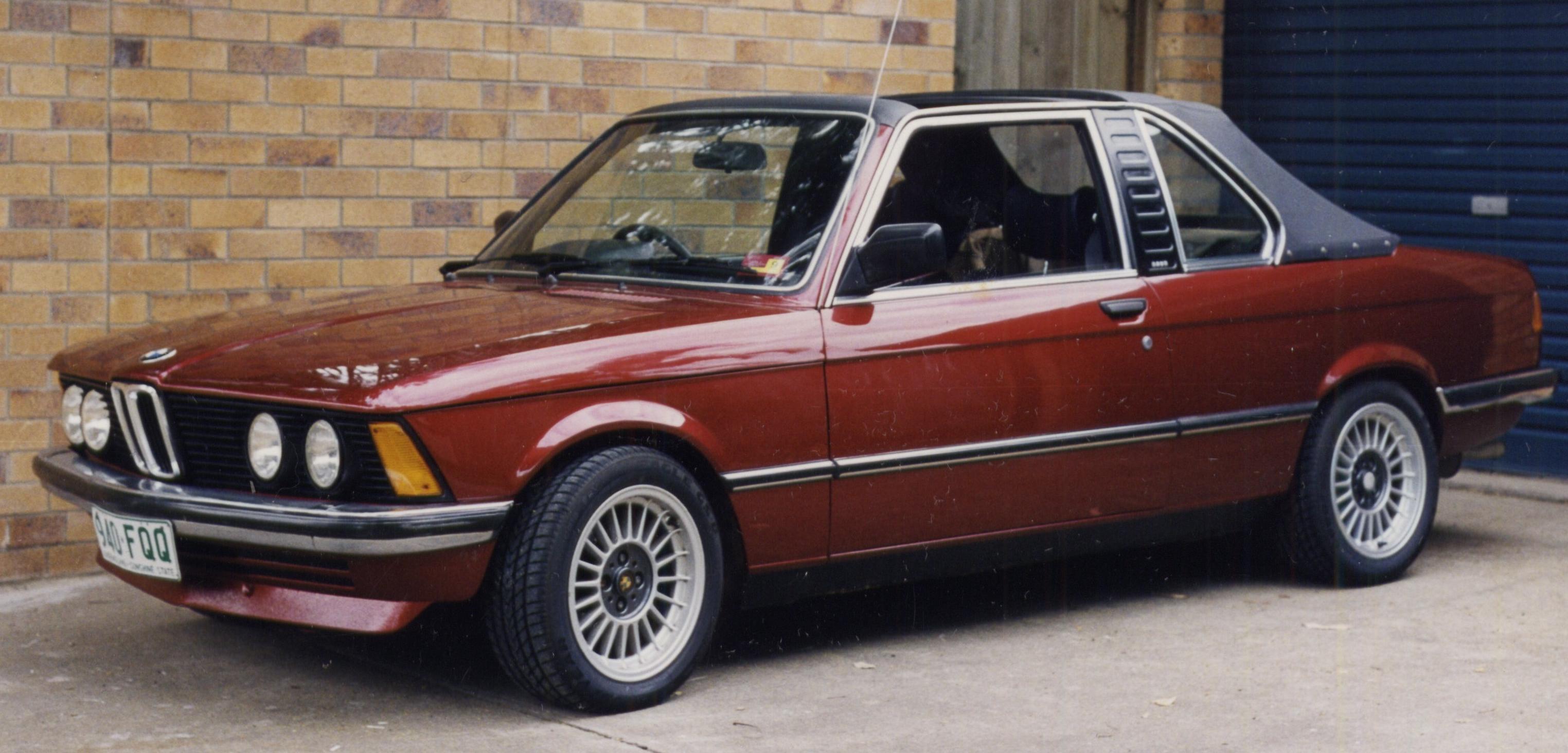 E21 Cabrio