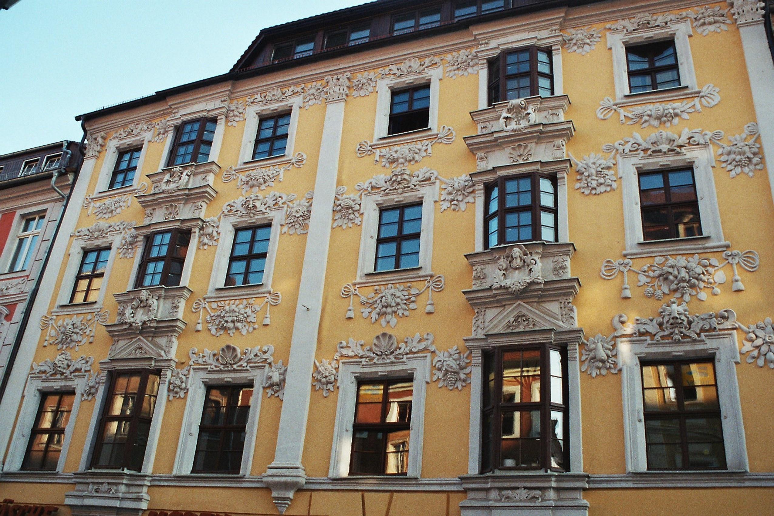 Filebautzen Fassade Haus Reichenstraße 12jpg Wikimedia Commons