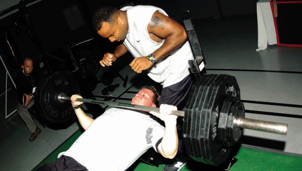 Дишането и тренировките с тежести