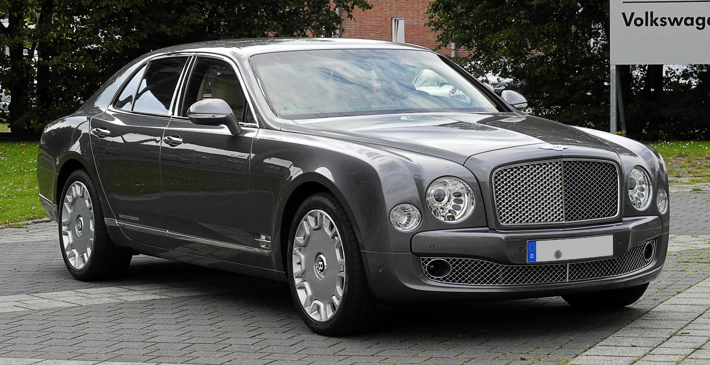 File:Bentley Mulsanne – Frontansicht, 10. August 2011 ...