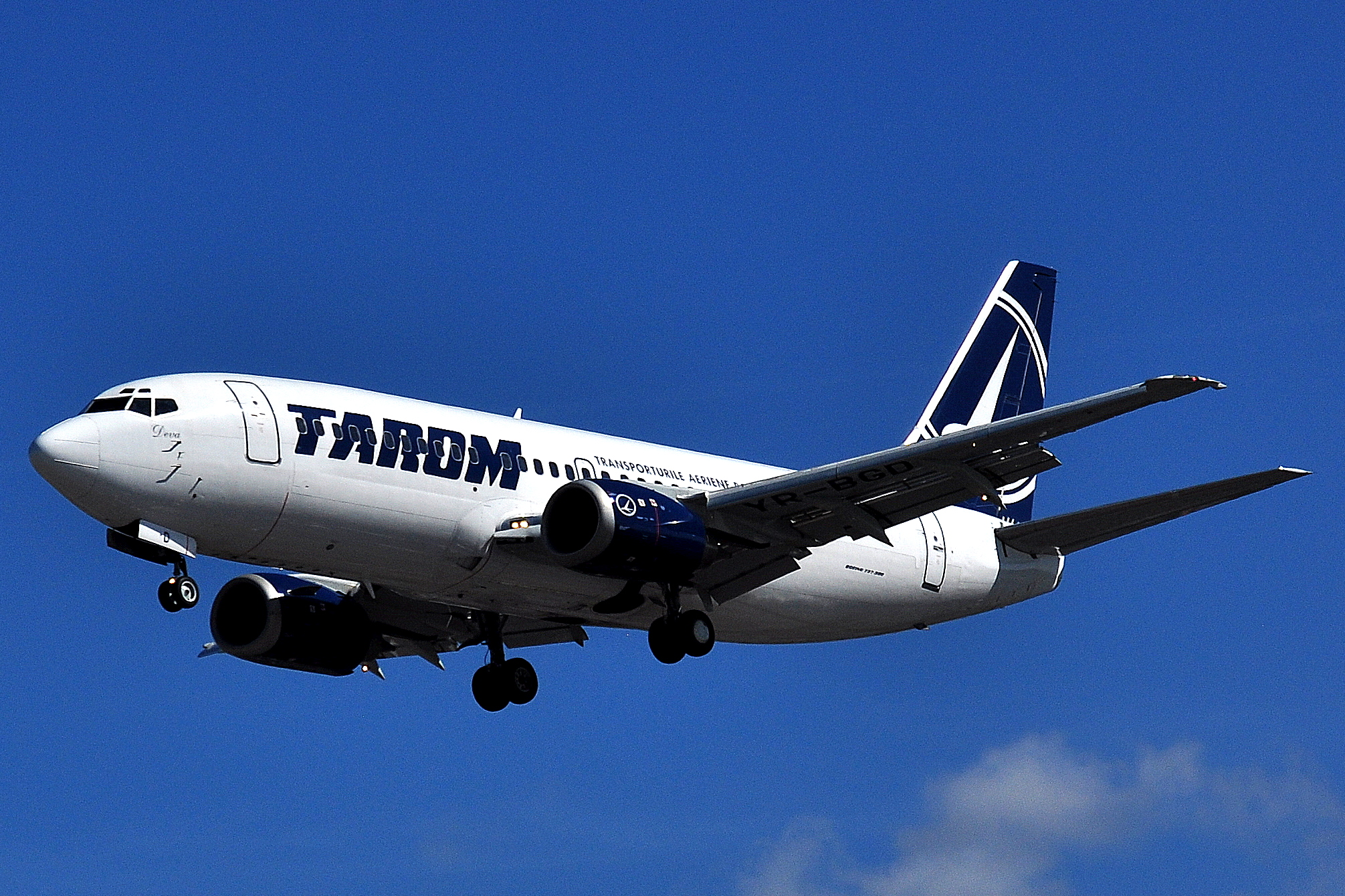 Tarom Airlines (Tarom). Official sayt.2