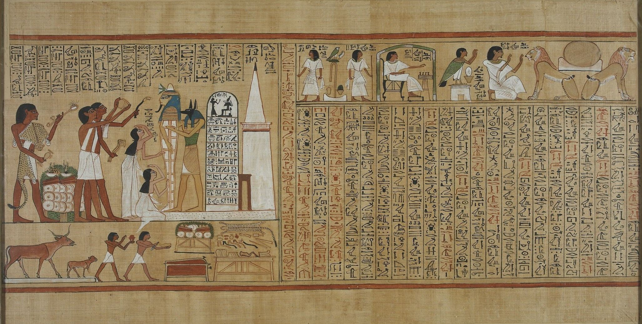 file book of the dead of hunefer sheet 5     wikimedia