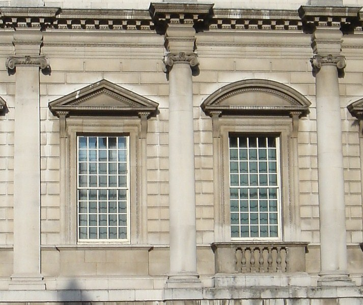 File Bottom Storey Facade Banqueting House Jpg Wikimedia Commons