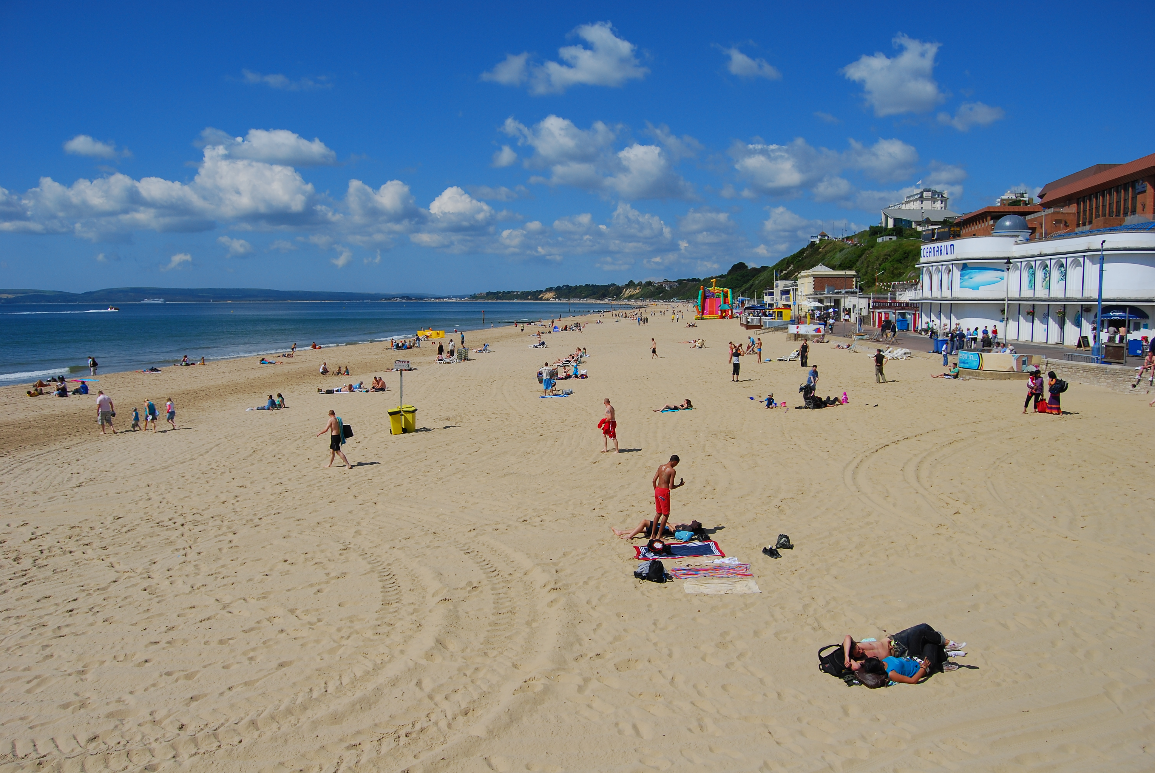 Bournemouth Beach Housing