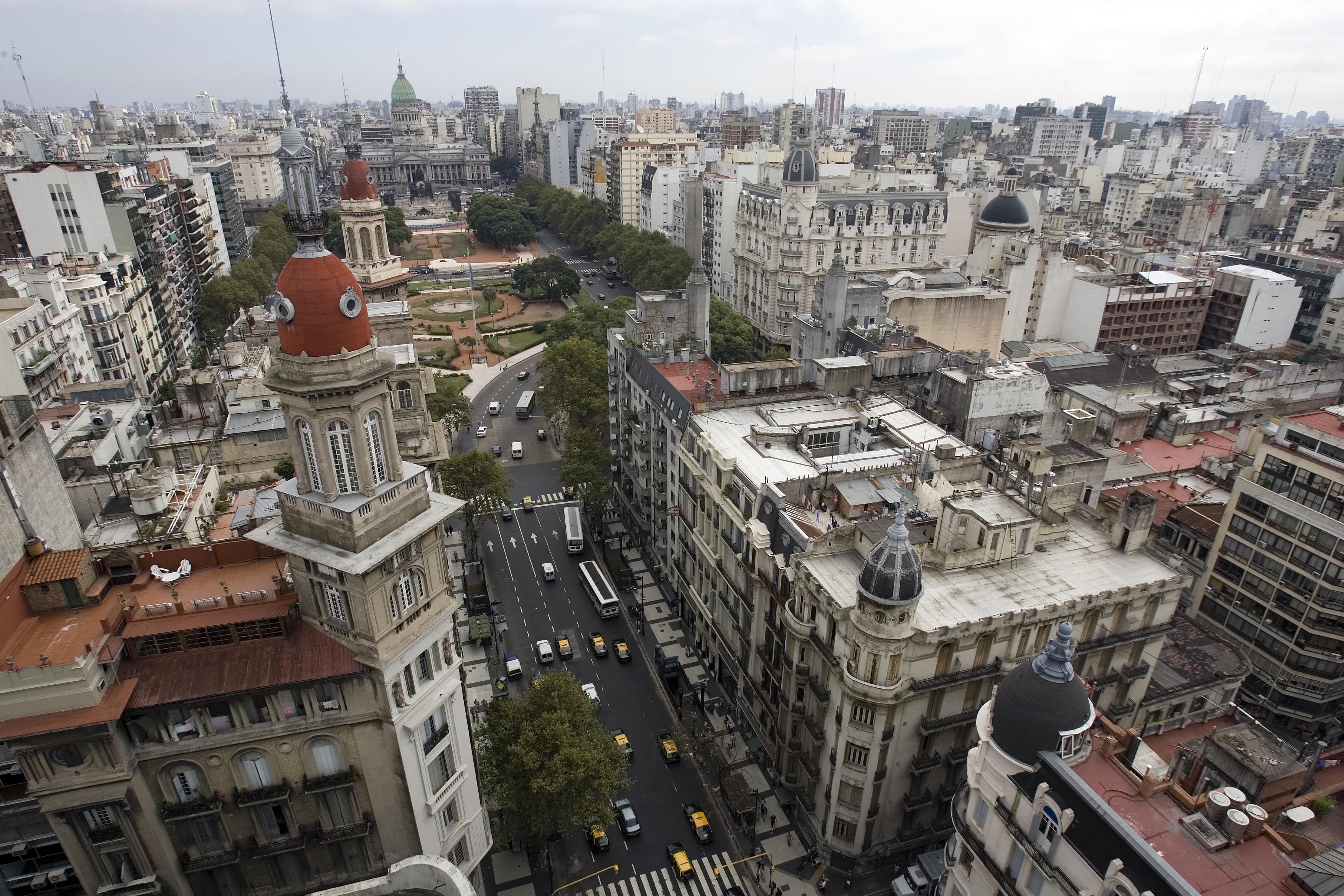 File Buenos Aires Avenida De Mayo The Congress And La