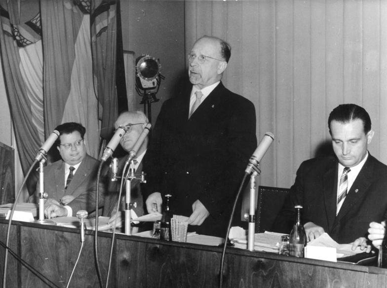 Walter Ulbricht - Pressekonferenz vom 15. Juni 1961