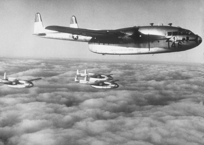 Fairchild C-119 Flying Boxcar   Military Wiki   FANDOM ...