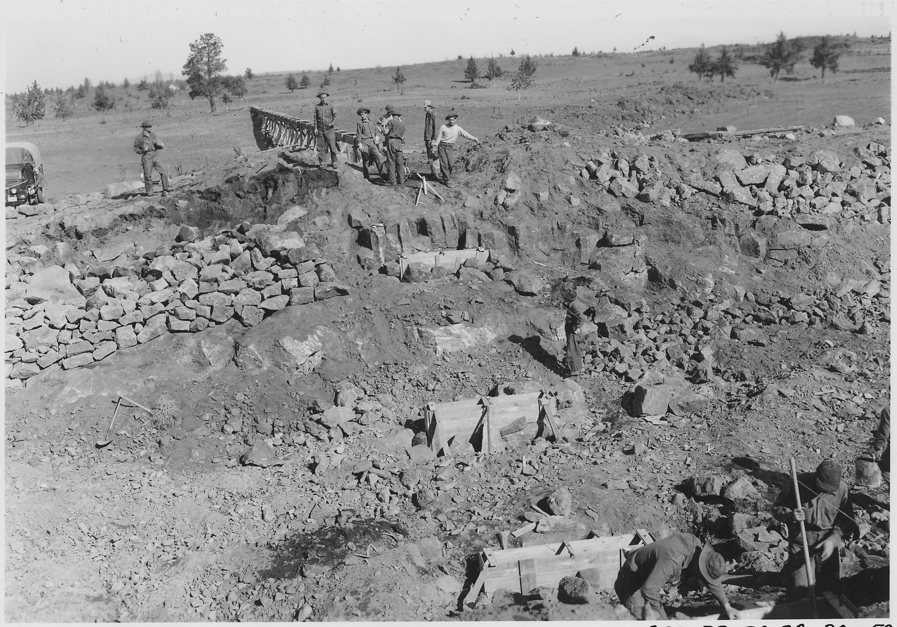 ccc projects Civilian conservation corps in south carolina 1933-1942 embodied his ideas and created a civilian conservation corps (ccc) the new law project that would relieve distress and reclaim the ravaged land the land project.