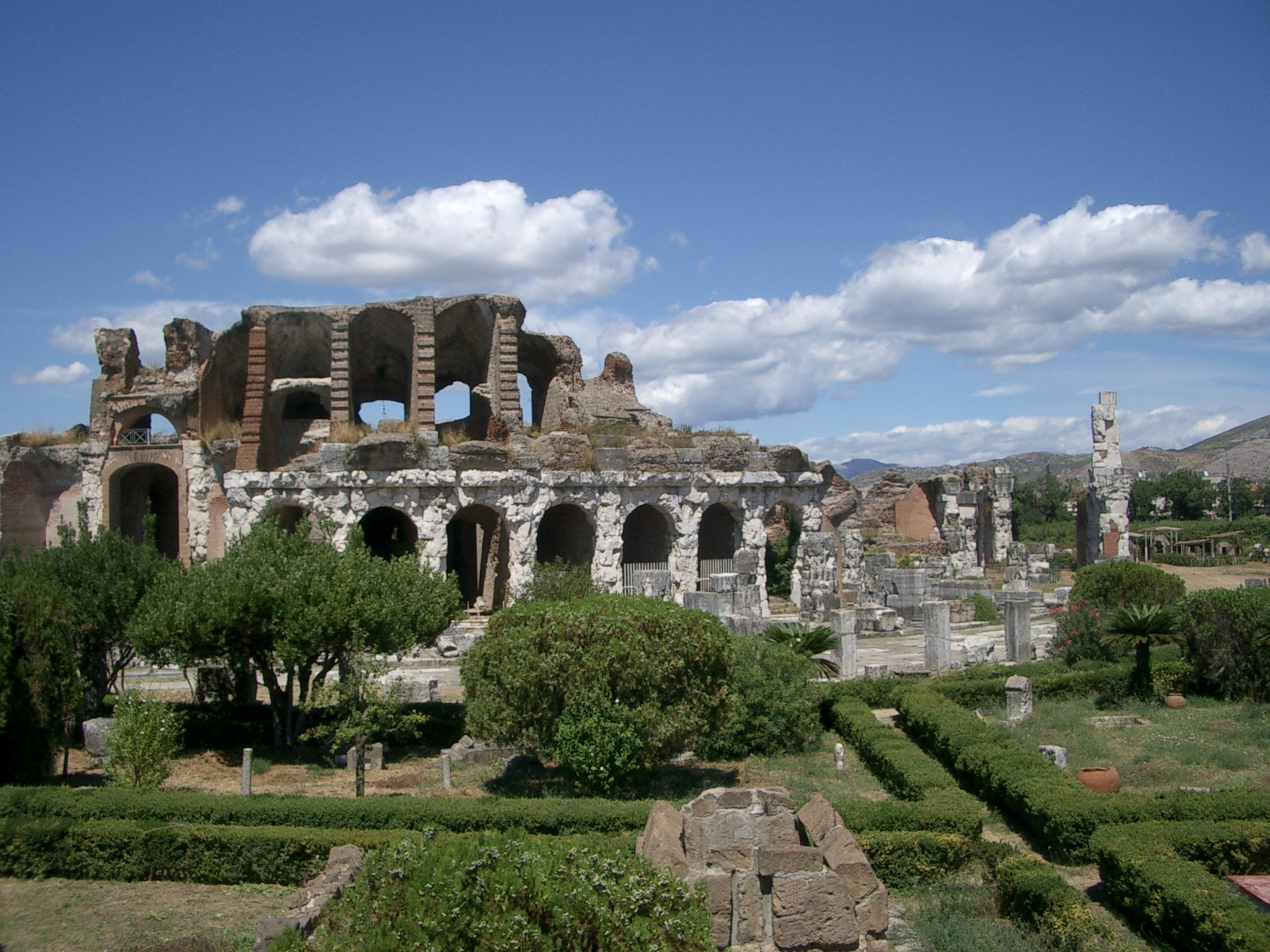 L'anfiteatro dell'odierna Santa Maria Capua Vetere