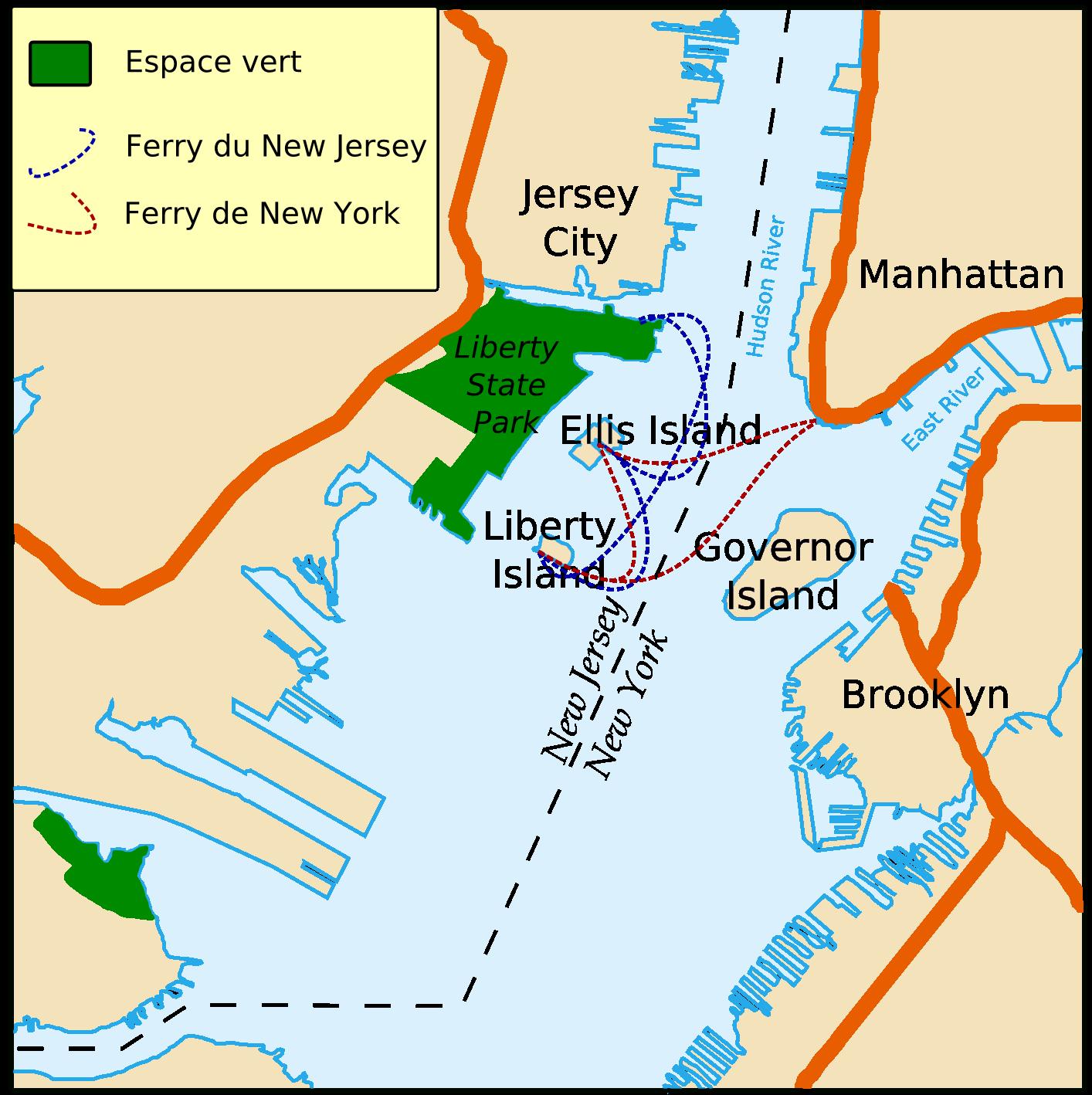 FileCarte Localisation Statue Libertépng Wikimedia Commons - Map of new york ellis island