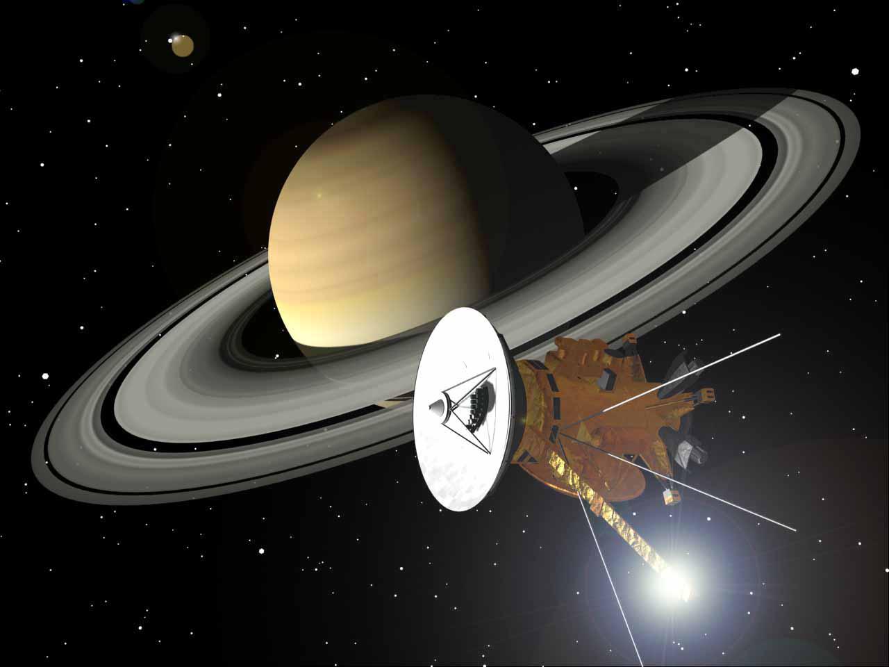 Resultado de imagen de La Sonda Cassini Huygens