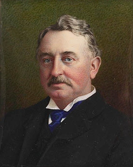 Cecil Rhodes (1853-1902), Founding Chairman of the board of directors of De Beers Mining Company, funded by Nathaniel, 1st Lord Rothschild Cecil Rhodes portrait LAC CANADA.jpg