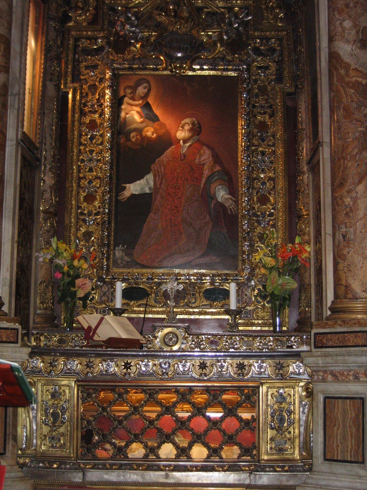 Filechiesa Nuova S Filipo Neri Chapeljpg Wikimedia Commons