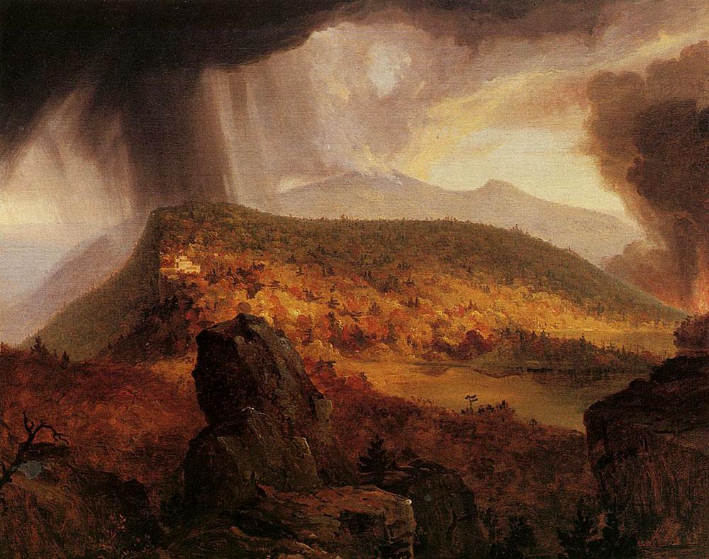 Four Elements Art : File:cole thomas catskill mountain house the four elements 1843 44