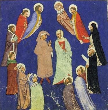 Dante fra gli Spiriti Sapienti