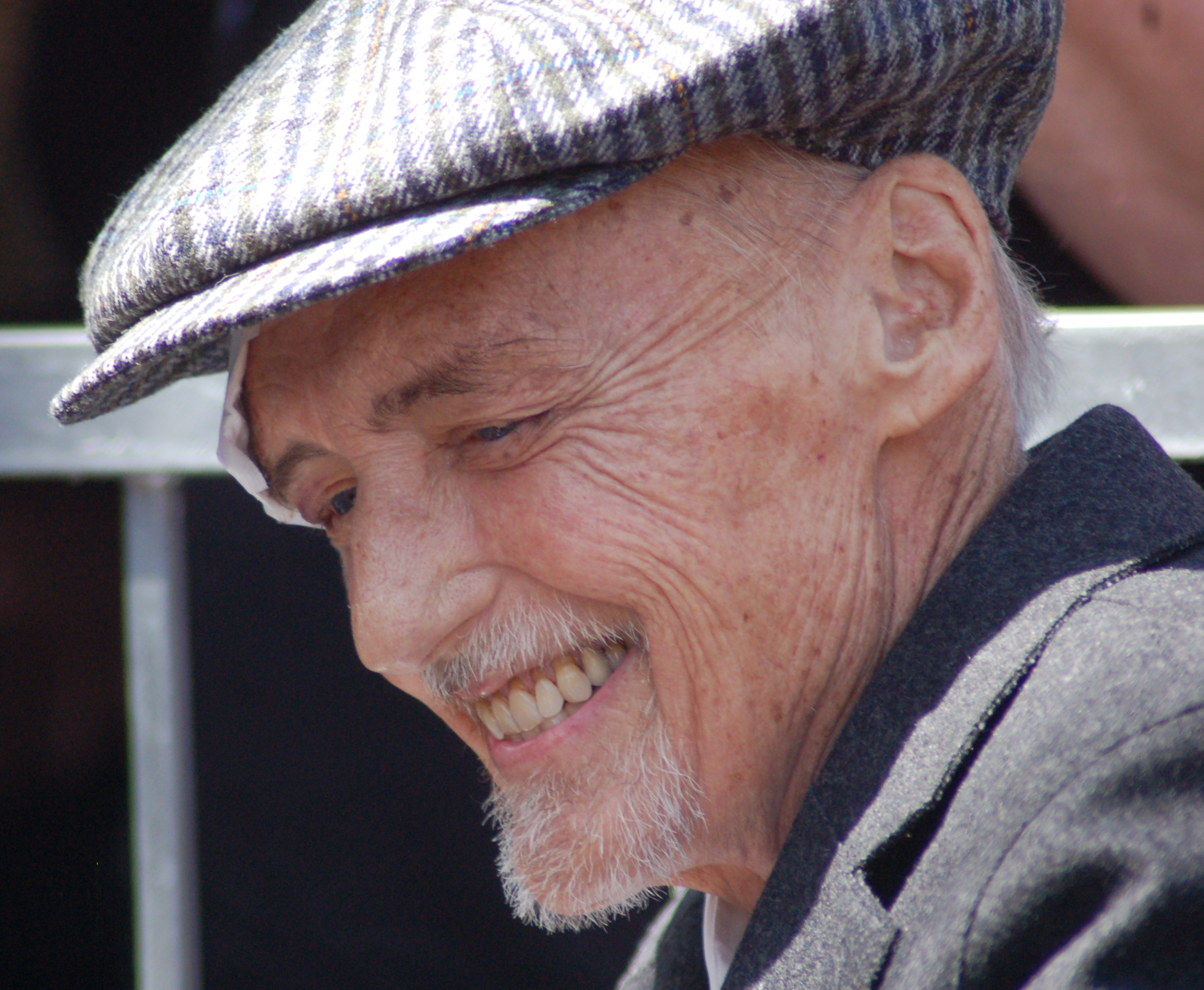 Hopper at his Hollywood Walk of Fame Star ceremony, March 2010
